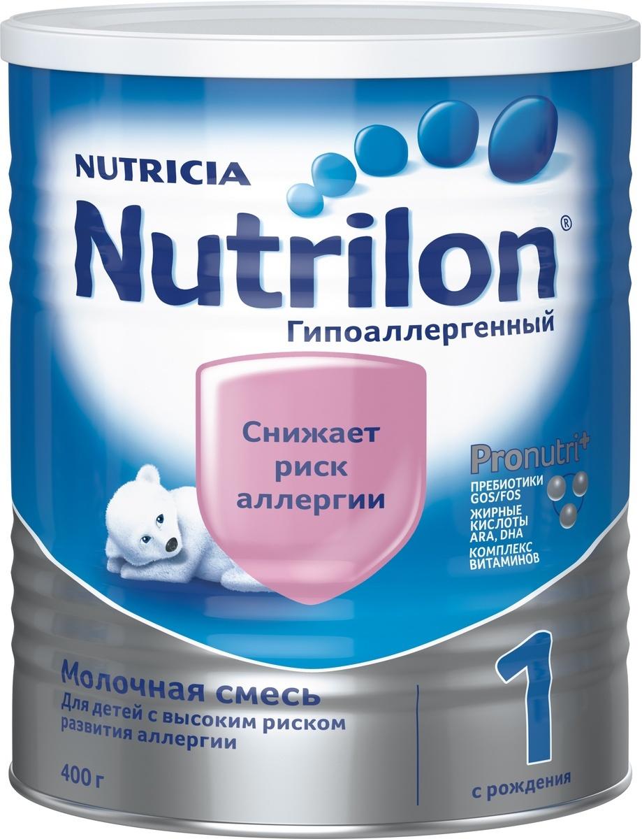 Молочная смесь Nutricia Nutrilon ГА 1 PronutriPlus, специальная, гипоаллергенная, с рождения, 400 г  #1