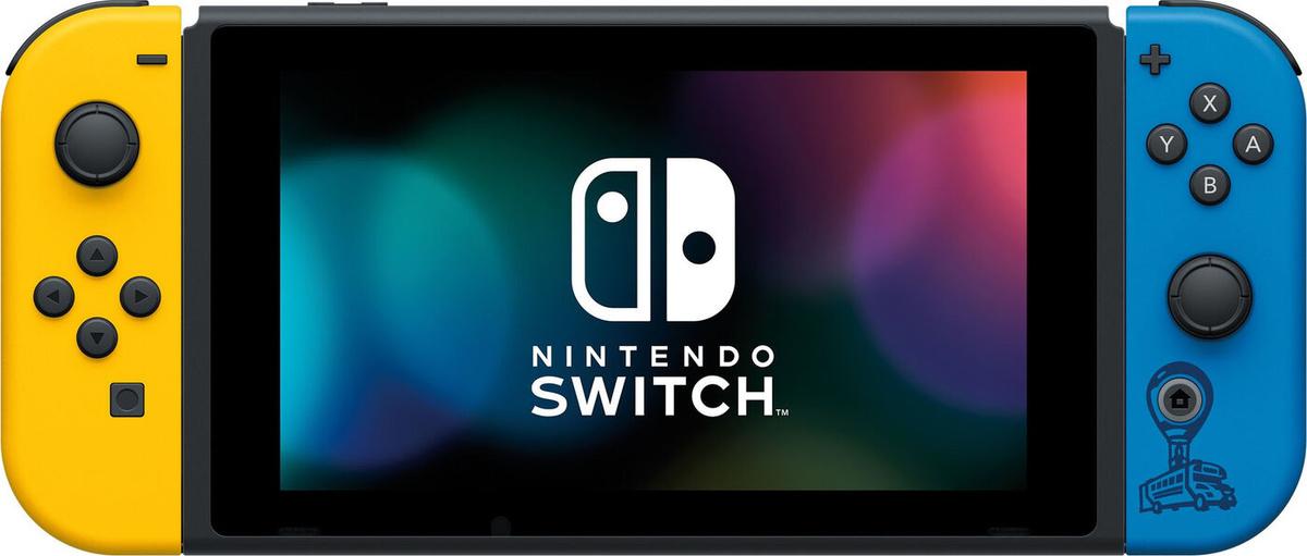 Игровая консоль Nintendo Switch Особое издание Fortnite, желтый, синий  #1