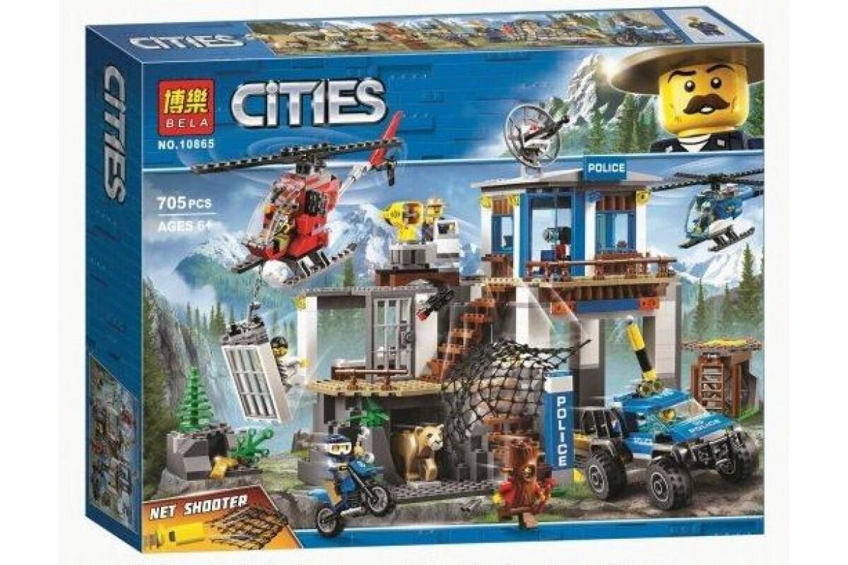 Конструктор Lari Cities 10865 Штаб-квартира горной полиции #1