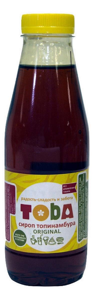 Сироп топинамбура с лимонным соком, Toba  Original, 670 г #1