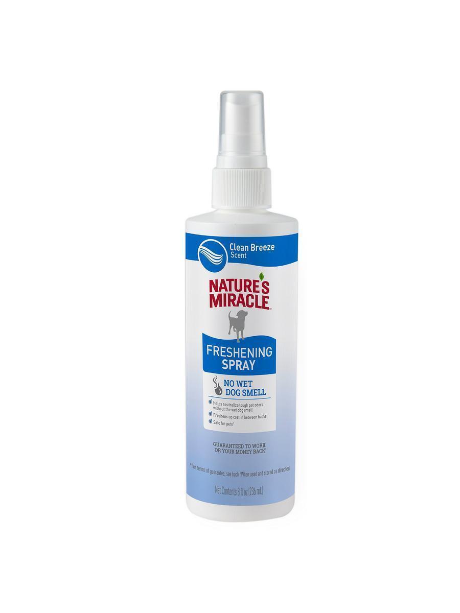 Nature's Miracle Спрей для собак, не требующий смывания, с ароматом свежести, 236 мл  #1