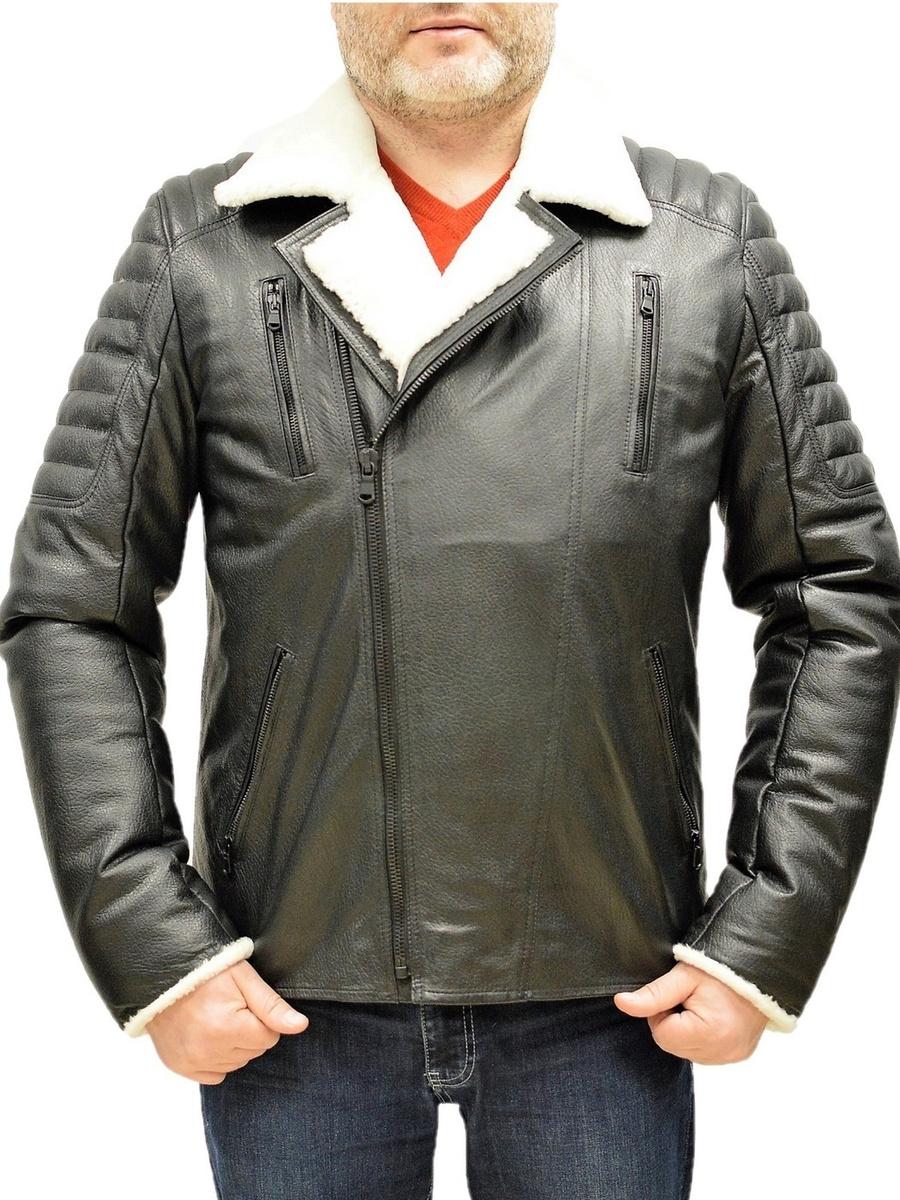 Кожаная куртка LUIGI #1