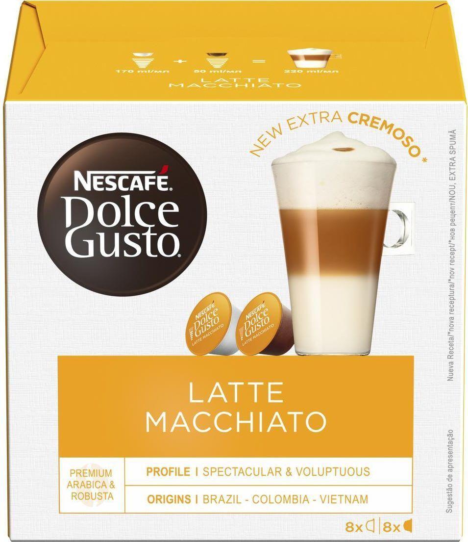 Кофе в капсулах Nescafe Dolce Gusto Latte Macchiato, 8 порций (16 капсул) #1