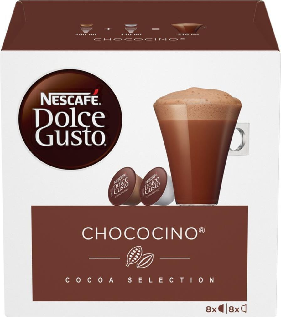 Горячий шоколад в капсулах Nescafe Dolce Gusto Chococino, 8 порций #1