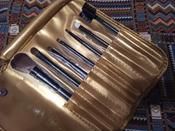 Magruss Профессиональный набор кистей для макияжа (7шт + чехол) #2, Евгений Д.