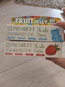 "Детская зубная паста President Kids ""Fruit Jelly"" от 3 до 6 лет, со вкусом мармелада (без фтора), 50 мл #12, Елена О."