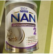 Смесь NAN Гипоаллергенный 2 OPTIPRO HA, для профилактики аллергии, с 6 месяцев, 400 г #12, alla o.