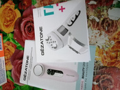 Gezatone Косметологический аппарат Аппарат для омоложения лица с функцией ионофореза 4 в 1 Bio Sonic m776 #7, Надежда М.