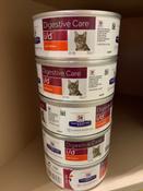 Влажный диетический корм  при расстройствах пищеварения (ЖКТ), для кошек, Hill's Prescription Diet i/d, упаковка 12 шт х 156 г #1, varnashova olga