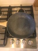 """Сковорода Hitt """"Brut"""" гранитное антипригарное покрытие, индукция, 26 см #1, Юлия С."""