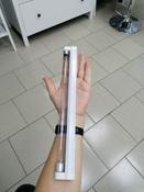 Светильник (с сертификатом) 8 Вт ультрафиолетовый бактерицидный с лампой. Накладной (настенный). Без озонирования. 253.7 нм. Корпус белый. (кабель и выключатель в комплекте)(М) #6, Виктория И.