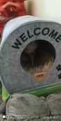 "Домик для животных Eva ""Будка WELCOME"", войлок, 33х33х45см #5, Tatiana P."