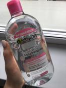 Garnier Мицеллярная вода, очищающее средство для лица, для всех типов кожи, 700 мл #4, Мария З.
