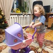 """Полесье коляска для кукол """"Arina"""" 4-х колёсная в пакете #1, Наталья Ш."""