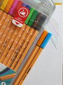 Набор капиллярных ручек линеров STABILO Point 88, 10 цветов #14, Юлия Ж.