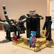 Конструктор LEGO Minecraft 21151 Последняя битва #4, Екатерина С.