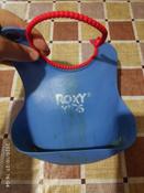 Слюнявчик детский, нагрудник для кормления ROXY-KIDS мягкий с кармашком и застежкой, цвет синий #9, Юлия Т.