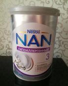 Молочко NAN 3 OPTIPRO гипоаллергенное, для здоровых детей, с 12 месяцев, 400 г #11, Александр К.