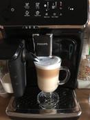 Автоматическая кофемашина Philips Series 2200 LatteGo EP2231/40, черный #7, Елена М.