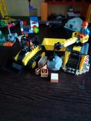Конструктор LEGO City Great Vehicles 60252 Строительный бульдозер #13, Кристина П.