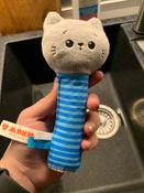 Игрушка пищалка для самых маленьких: Котёнок Кекс, Мякиши #7, Дарья С.