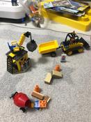 Конструктор LEGO City Great Vehicles 60252 Строительный бульдозер #3, Алёна Л.