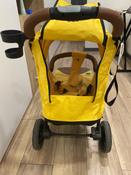 Прогулочная коляска Nuovita Corso (Giallo, Nero / Желтый, Черный) #7, Евгения Т.