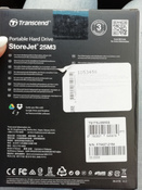 1 ТБ Внешний жесткий диск Transcend StoreJet 25M3S (TS1TSJ25M3S), темно-серый, светло-зеленый #12, Сивер Д.