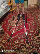 Комплект лыжный STC Set/NNN/Step с креплениями NNN и палками, 170 см #9, Богомолова Дарья Сергеевна