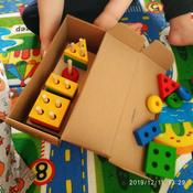 Краснокамская игрушка Набор строительных деталей Геометрик #2, Кристина