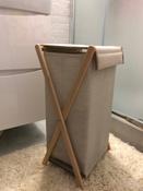 Корзина для белья Casy Home, 30 х 25 х 60 см #8, Лариса Б.