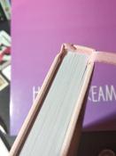 Ежедневник-планер (планинг) датированный на 2021 г. формата А5, Brauberg Profile, балакрон, светло-розовый #1, Надежда Б.