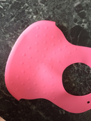 Нагрудник гибкий с кармашком 6 месяцев + розовый BabyOno #5, Ксения П.