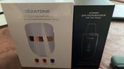 Gezatone Косметологический аппарат Светодиодная маска для омоложения кожи лица m1020 #9, Анастасия П.