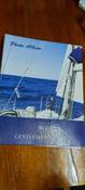 """Фотоальбом семейный/свадебный/детский на 104 фотографии 10x15см """"Вид с яхты"""", твердая обложка, синий, Brauberg #1, Алия А."""