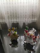 """Светодиодная фигура """"Олень"""" со сменой цвета на присоске 70x95x13 мм, цвет свечения: RGB #2, Надежда Ш."""