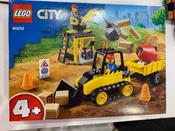 Конструктор LEGO City Great Vehicles 60252 Строительный бульдозер #8, Елена Р.