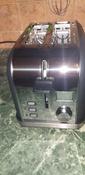 Тостер Kitfort КТ-2036, серый #220, Алиса Б.