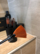 Набор кистей для макияжа черный12 шт + футляр подставка #5, Марк Р.