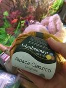 Пряжа для вязания Schachenmayr Originals Alpaca Classico, золотистый (00022), 90 м, 50 г #2, Екатерина А.