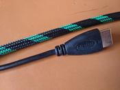 HDMI кабель GCR для PS4 Xbox One 2 метра 4K 60 Hz UHD 24К GOLD зеленый нейлон кабель HDMI 2.0 #15, butthead