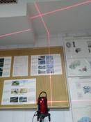 Уровень лазерный самовыравнивающийся DEKO LL57 SET 1 (5 линий, красный луч) #15,  Сергей