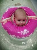 Круг надувной на шею для купания новорожденных и малышей Flipper Балерина от ROXY-KIDS #4, Анна Ш.