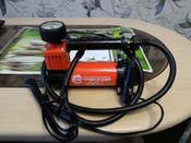 """Компрессор автомобильный """"Агрессор AGR-30L"""" со встроенным фонарем, металлический, производительность 30 л/мин, 12В, 140Вт #6, Константин Ф."""