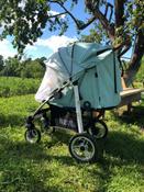 Прогулочная коляска Nuovita Corso, оливковый серебристый #12, Гаврилова С.