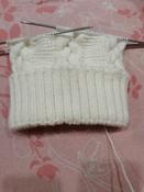 """Пряжа для вязания Alize """"Lanagold"""", цвет: белый (55), 240 м, 100 г, 5 шт #12, Ирина Г."""