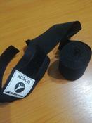 Бинт боксерский, Rusco 3,5 м, хлопок, черный #2, Варвара Л.