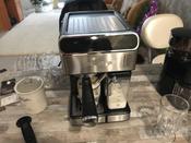 Кофеварка электрическая Рожковая Polaris PCM 1535E Adore Cappuccino, серебристый #1, Владислав Е.