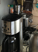 Кофеварка электрическая Капельная Kitfort KT-732, серебристый #10, Дарья