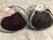 Пряжа для вязания Schachenmayr Originals Alpaca Classico, антрацит меланж (00098), 90 м, 50 г #7, Аделя Б.
